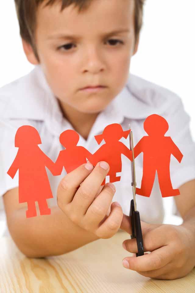 Skilsmässa barn - Skilsmässa med barn